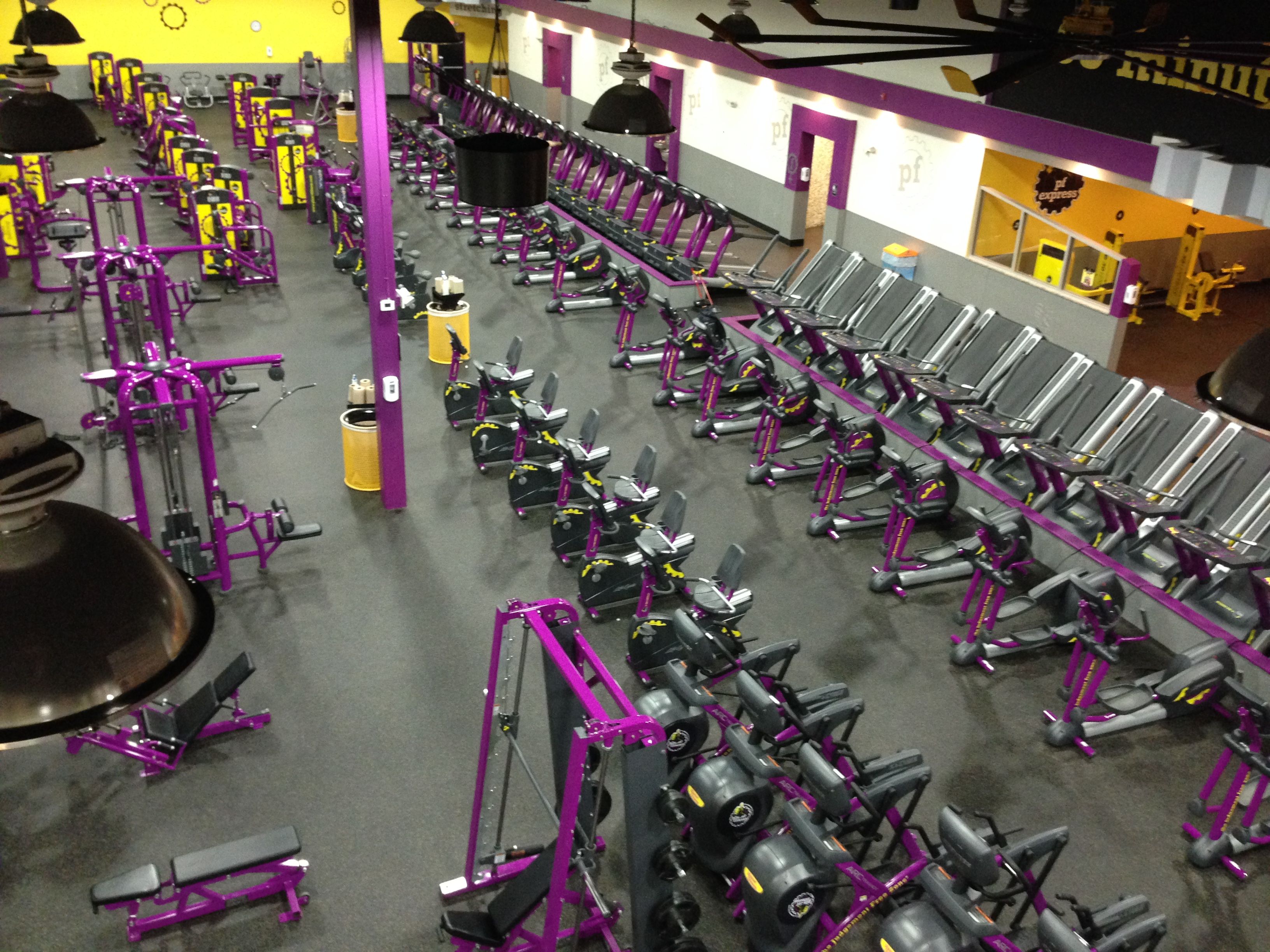 Planet Fitness Rsm Electric